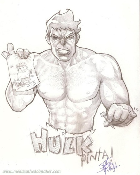 Hulk por Medusa the Dollmaker