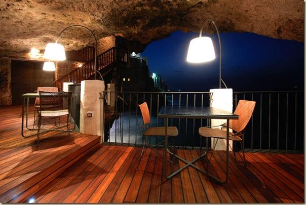 Restaurant de l'hôtel Grotta Palazzese (13)