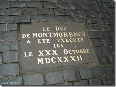 Estela del Duque de Montmorency - Capitolio - Toulouse