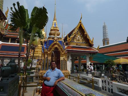 Imagini Thailanda: o nebunie de culori in Marele Palat Bangkok