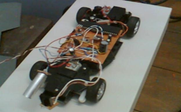 MICROCONTROLLER BASED AUTOMATIC VEHICLE CONTROL