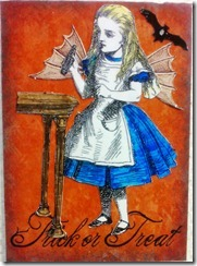 ATC Alice Halloween Trick or Treat