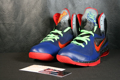 nike lebron 9 xx nerf custom 2 08 Another Chance to Get Your LeBron 9 Nerf Custom Kicks