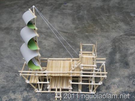 Hình ảnh một mô hình cổng trại GĐPT hình khối