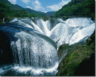 The pearl waterfall china