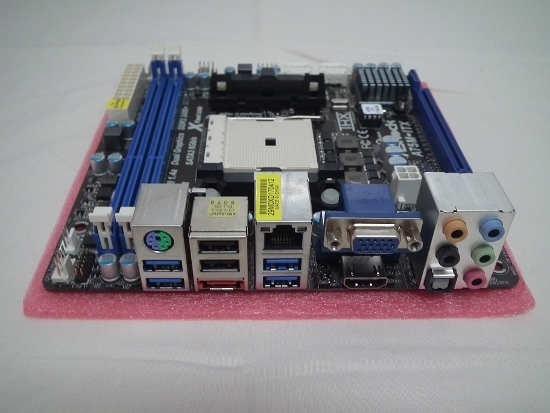 Conectividad Asrock A75M-ITX
