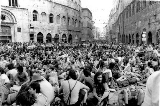 Umbria Jazz Perugia corso Vannucci luglio 1975 (arch. UJ)