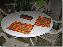 Long Lines placemats
