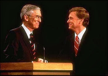 Image result for quayle benson vp debate