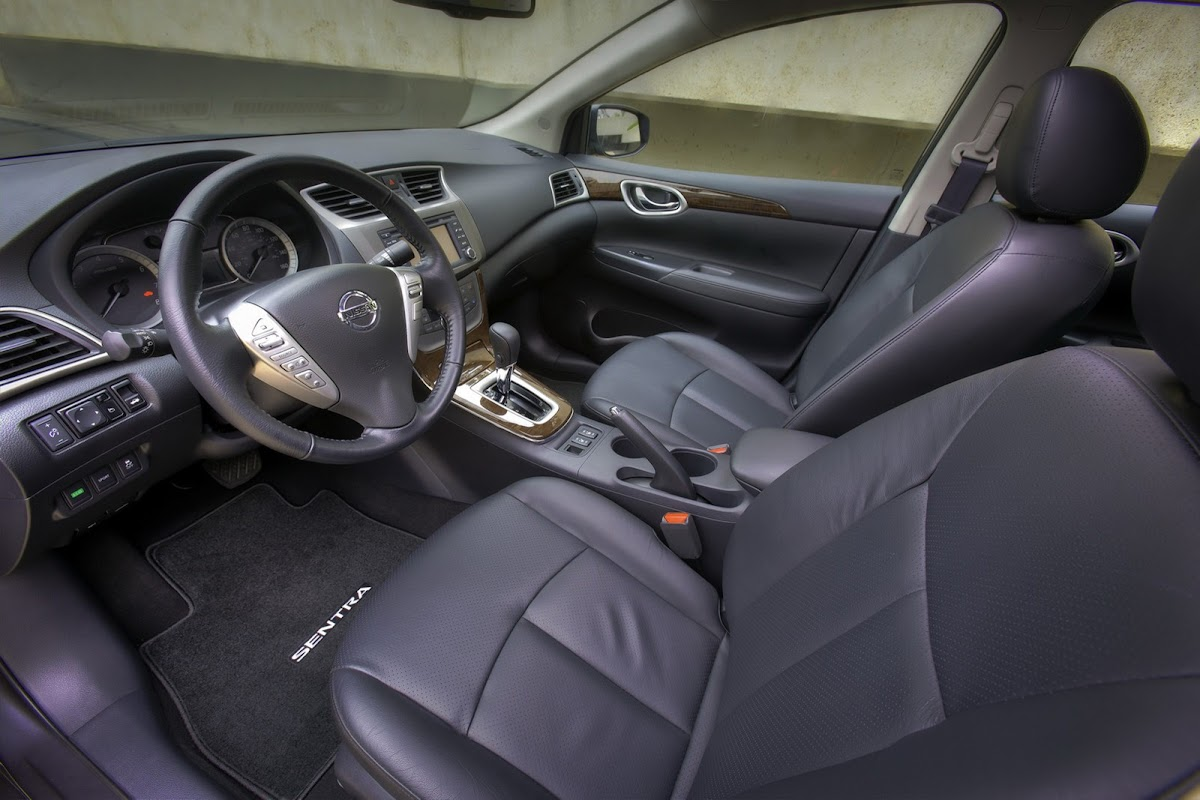 New 2013 nissan sentra is larger yet lighter and more efficient 2013 nissan sentra 30 vanachro Gallery
