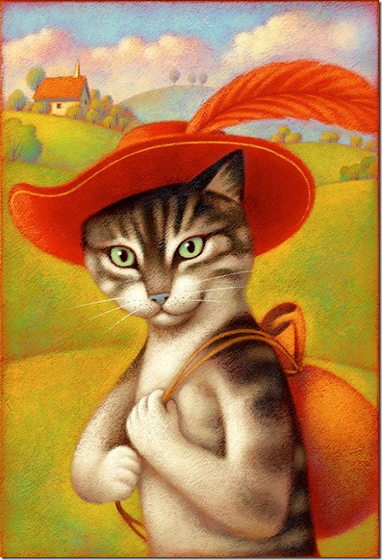 El Gato con Botas,El gato maestro,Cagliuso, Charles Perrault,Master Cat, The Booted Cat,Le Maître Chat, ou Le Chat Botté (41)