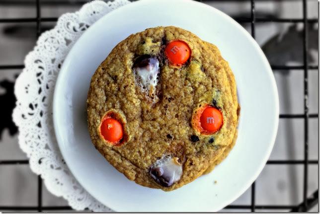 Pumpkin Candy Corn Cookies3