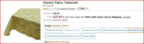 amazon tablecloth