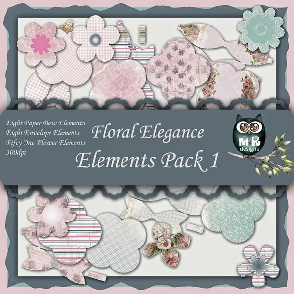 Floral Elegance Elements Front Sheet