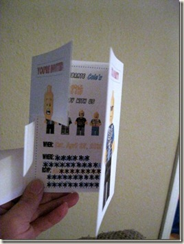 Lego Birthday Invite