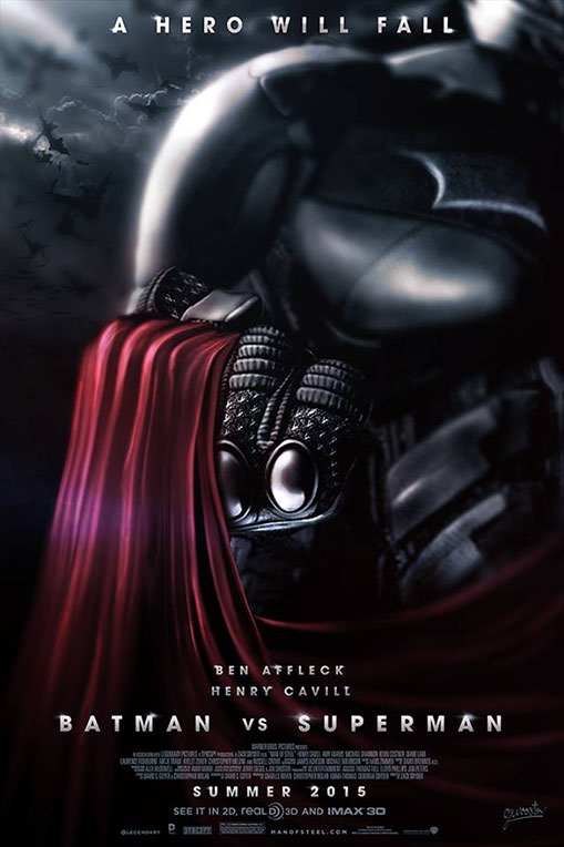 Batman vs. Superman fan-made poszter 01