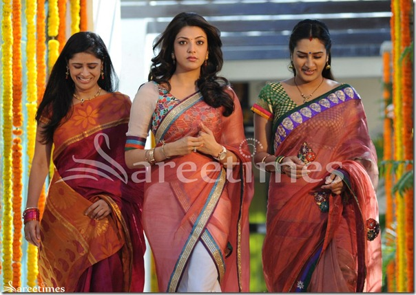 Satya Krishnan, Kajal Agarwal, Surekha Vani in Baadshah Movie Stills