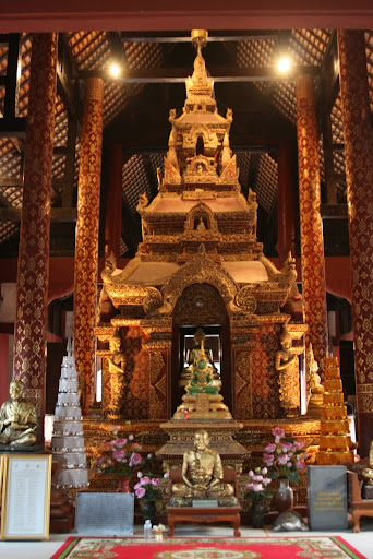 More intricate innards of a Wat.