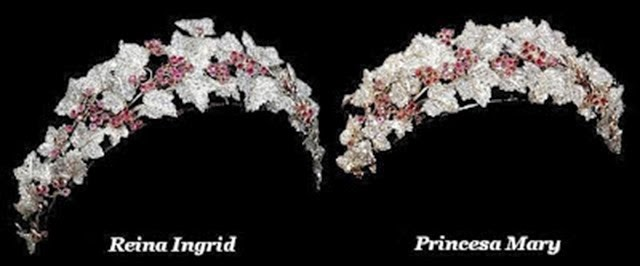La tiara antes y despues de la reforma de 2010