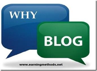 Top 10 Reasons Why People Blog