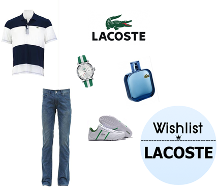 wishlist lacoste