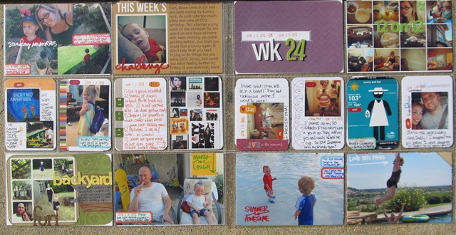 Project Life- Week 24 both