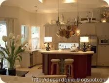 Кухонная посуда и утварь в декоре интерьера