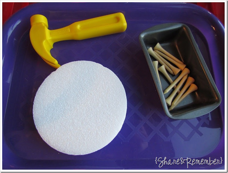 Preschool Activity Trays