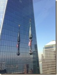 Freedom Tower Spire Raised II