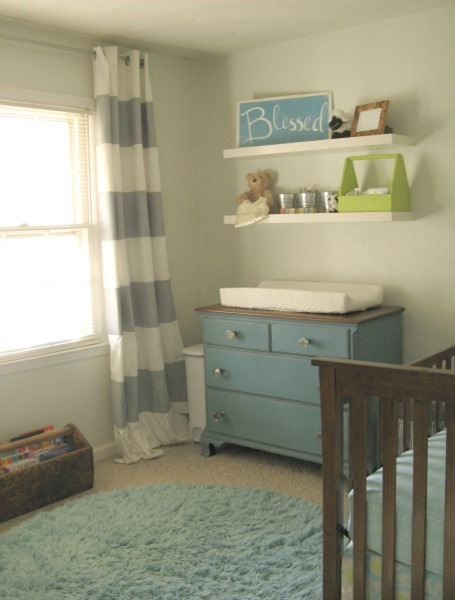 DIY boy nursery