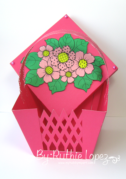 Beccy´s Place - Country Floral -Basket - Ruthie Lopez - My Hobby My Art 3