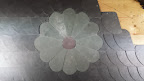 Blume aus Schiefer