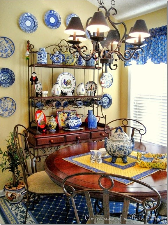 CONFESSIONS OF A PLATE ADDICT Decorating With Country French Fabrics - Country french fabric