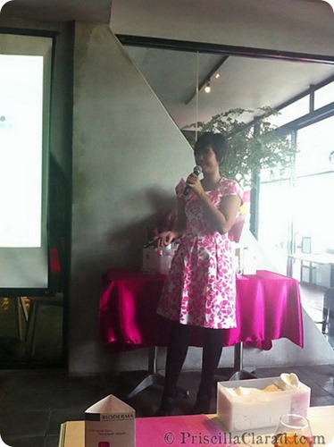 Priscilla event Bioderma Indonesia beauty blogger 11