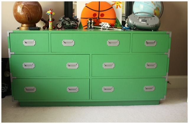 green dresser