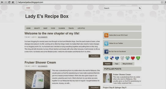 ladyerecipebox