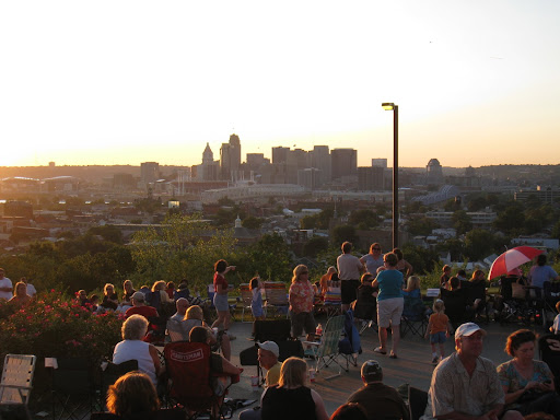 View of downtown Cincinnati, OH from NCC