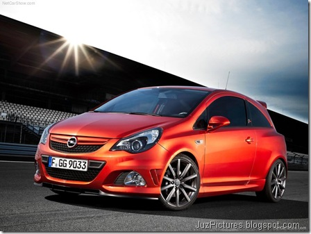 Opel Corsa OPC Nurburgring Edition 1