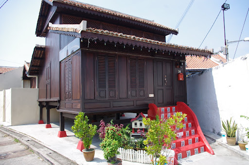 A traditional wooden house in top condition.