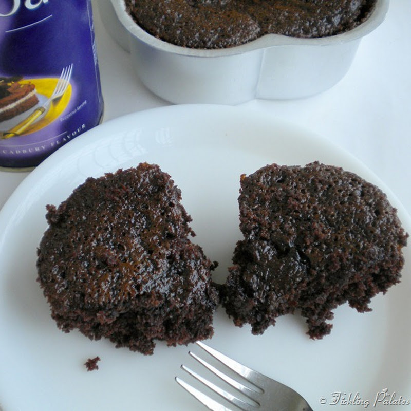 Eggless Chocolate Espresso Cake ~ For Blog Hop Wednesdays