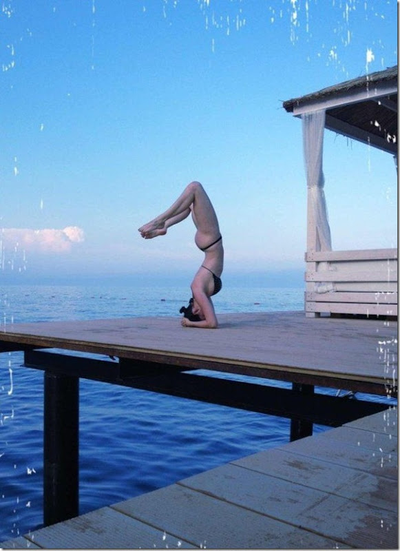 Dasha Astafieva fazendo Yoga (4)