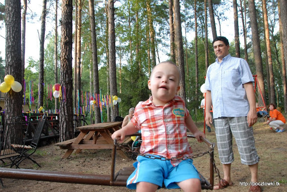 Natiś i dumny tata (Irek)
