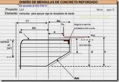 Diseño de mensulas de concreto