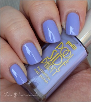 0 P2 Limited Edition LE Pool Side Party Nagellack 030 Violet Summerdream 3