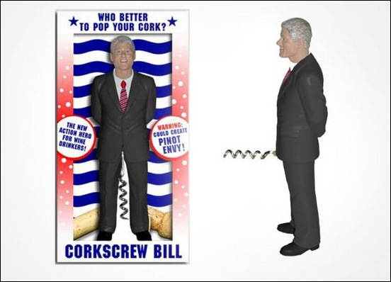 Bill Clinton Corkscrew