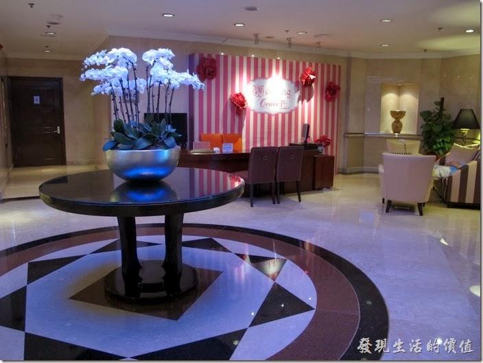 上海-齊魯萬怡大酒店。接待室。