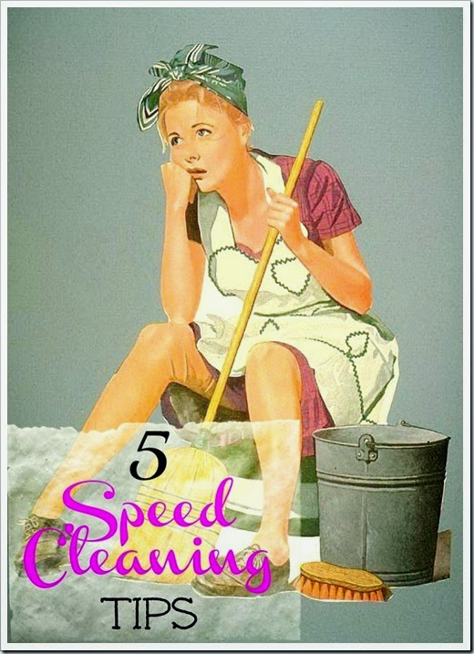 5 speed cleaning tips