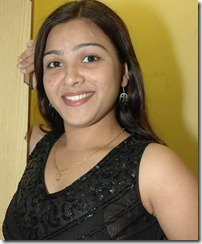 Swetha_in black dress