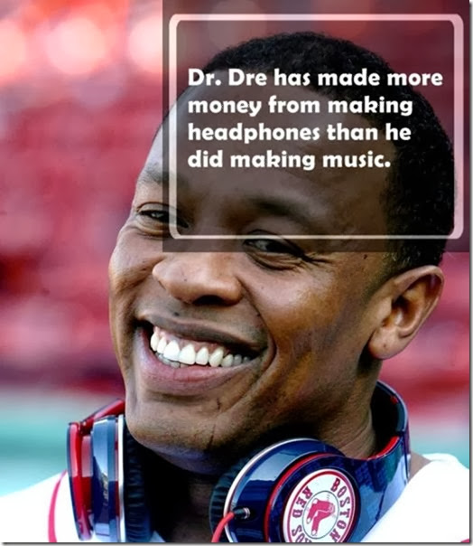 "Producer and Rapper Dr. Dre unveils his new ""Beats by Dr.Dre"" headphones during Opening Day at Fenway Park of the Boston Red Sox vs. the New York Yankees