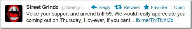 Amend Bill 59